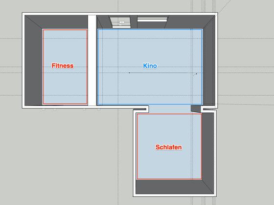 Multiroom Aufteilung